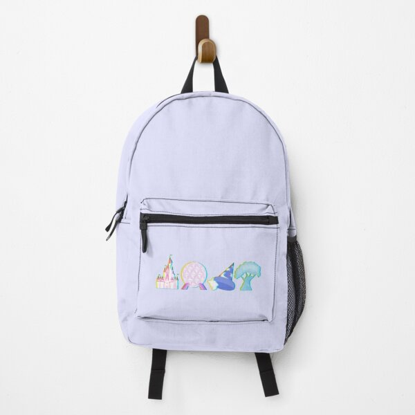 Glitched Four Park Icons Backpack