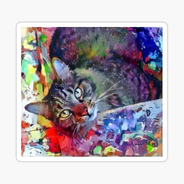 Beautiful Cat Sticker