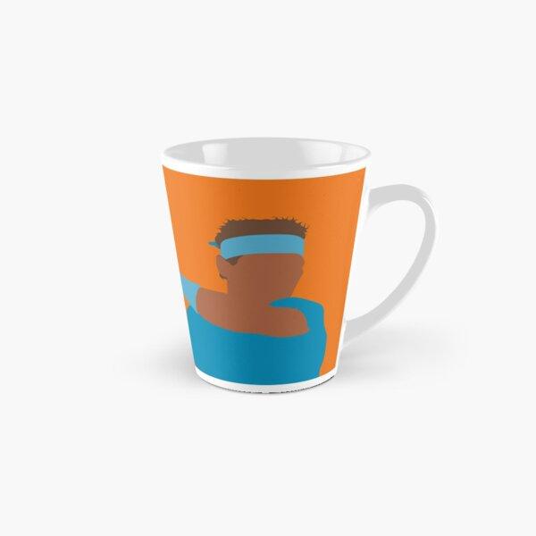 Rafael Nadal on the clay mug Tall Mug