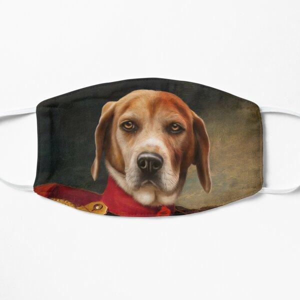 Beagle Dog Portrait - Steve Flat Mask