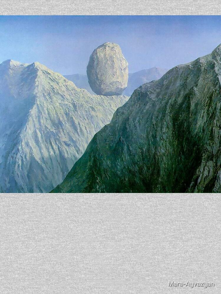 The Glass Key Rene Magritte by Mara-Ayvazyan