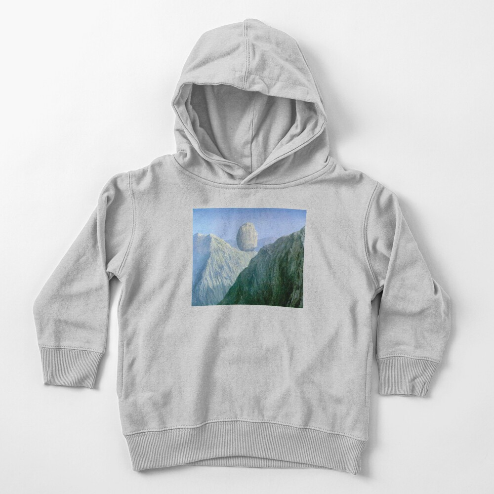 The Glass Key Rene Magritte Toddler Pullover Hoodie