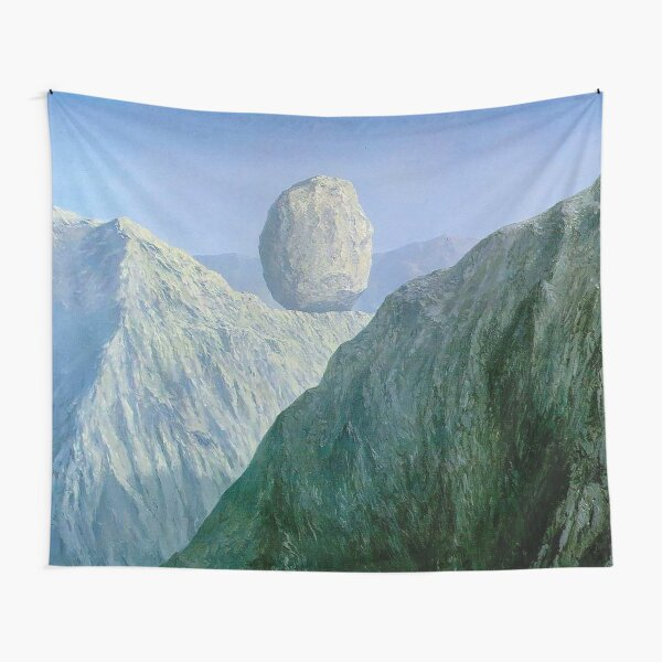 The Glass Key Rene Magritte Tapestry