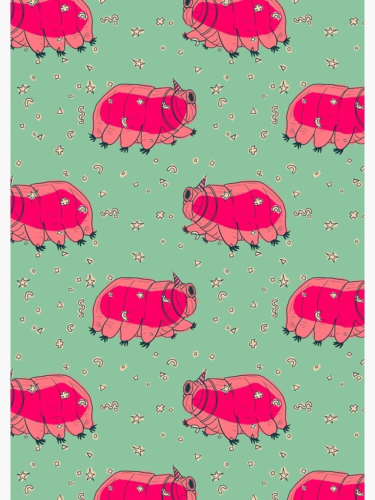 Tardigrade Party by Christache