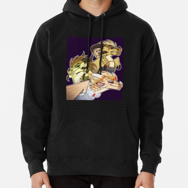 Blaze, Blister, and Burn Pullover Hoodie