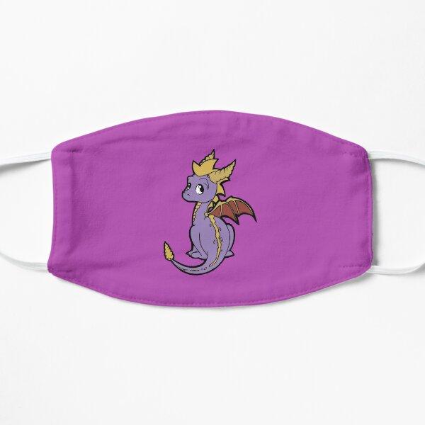 Little Purple Dragon Flat Mask