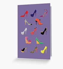 Shoes Glorious Shoes Greeting Card