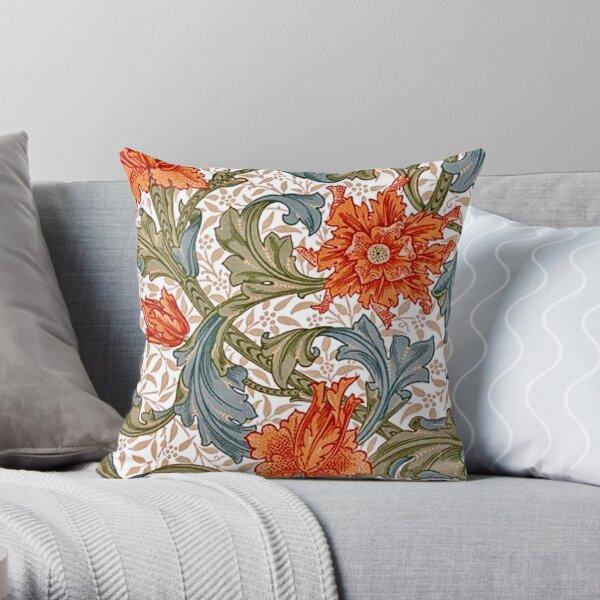 William Morris Single Stem Throw Pillow