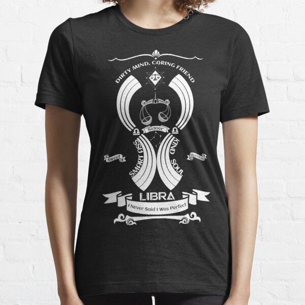 Libra Zodiac Sign Tshirt Essential T-Shirt