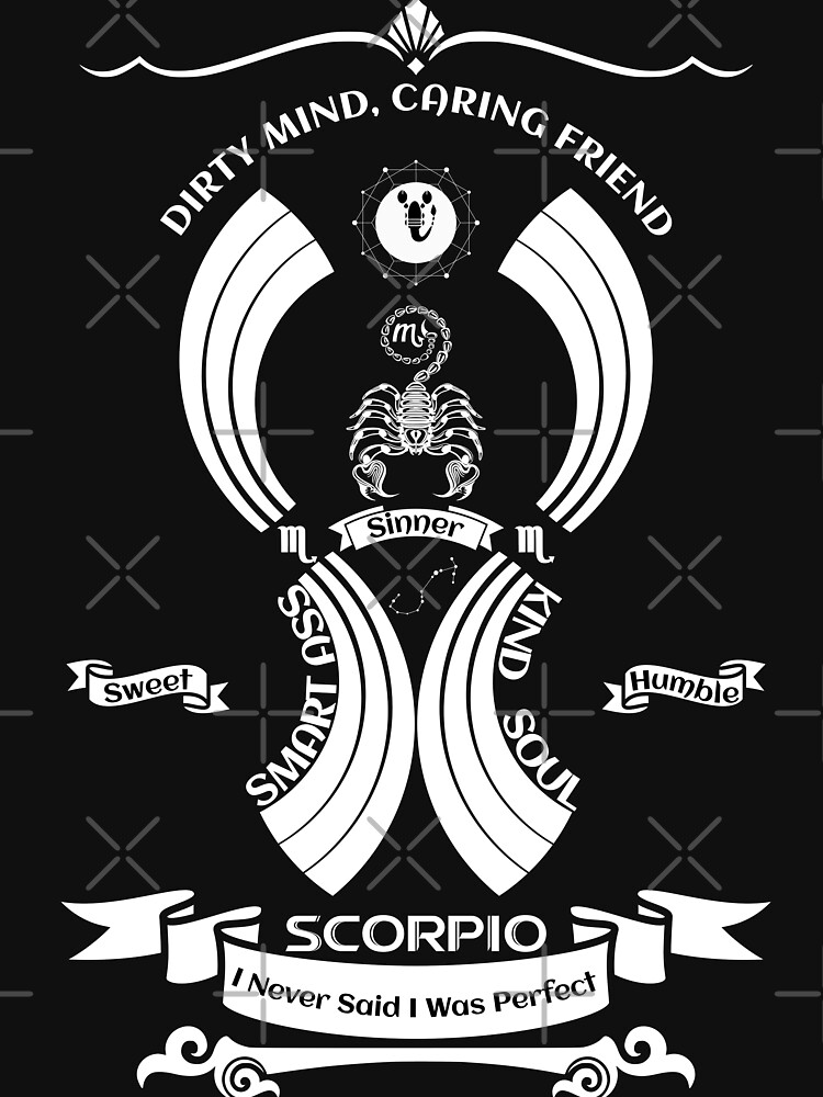 scorpio Zodiac Sign Tshirt by MickyDeeTees