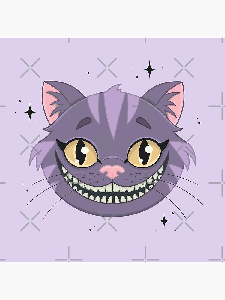 CHESHIRE CAT - purple by xxzbat