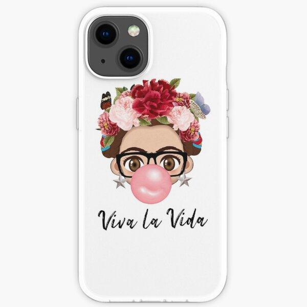 Ballon VIva Frida Kahlo peintre art pour les fans Coque souple iPhone