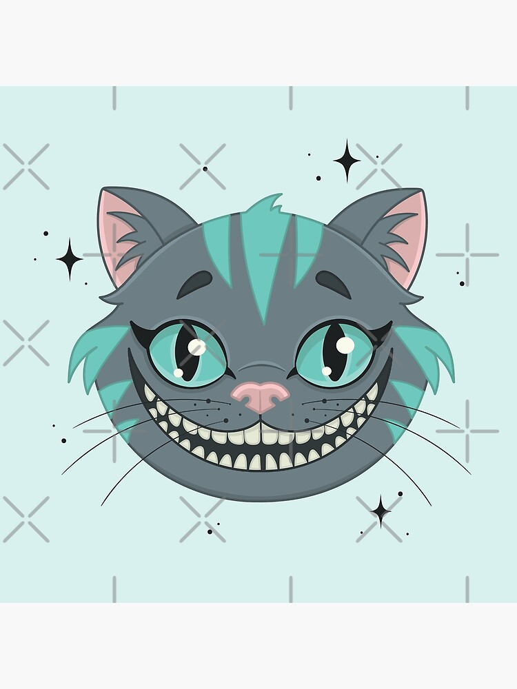 CHESHIRE CAT - teal by xxzbat