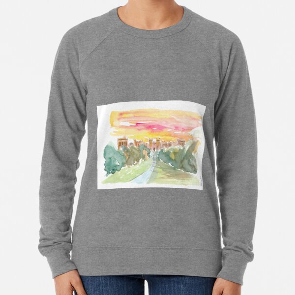 Windsor Castle England At Wonderful Morning Lightweight Sweatshirt