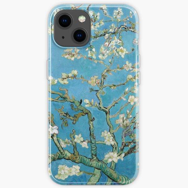 1890-Vincent van Gogh-Almond blossom-73.5x92 iPhone Soft Case