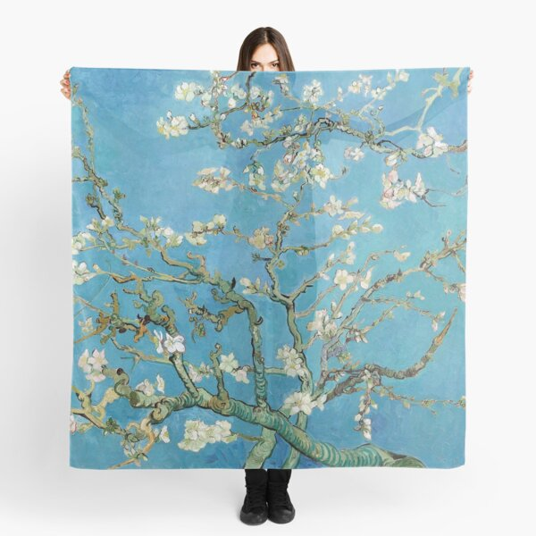 1890-Vincent van Gogh-Almond blossom-73.5x92 Scarf