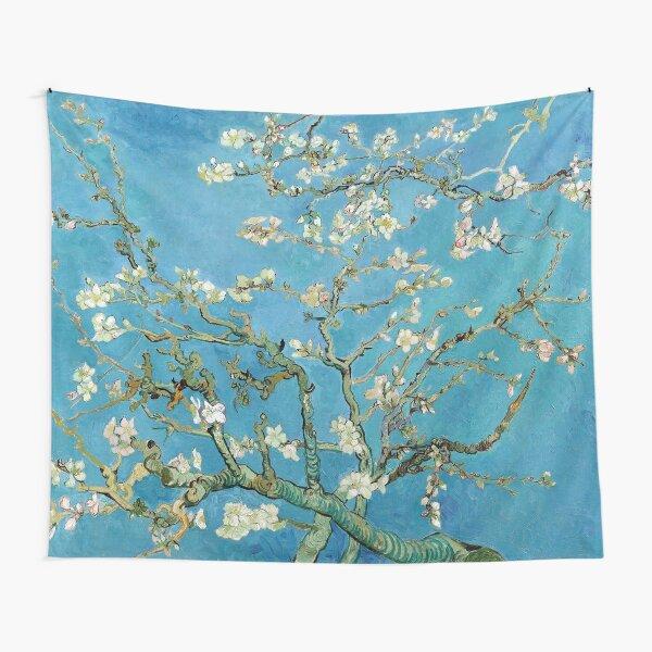 1890-Vincent van Gogh-Almond blossom-73.5x92 Tapestry