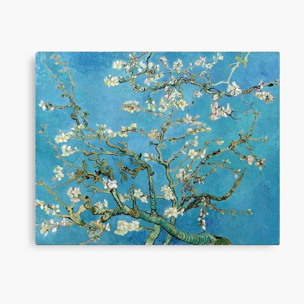 1890-Vincent van Gogh-Fleur d'amandier-73.5x92 Impression sur toile