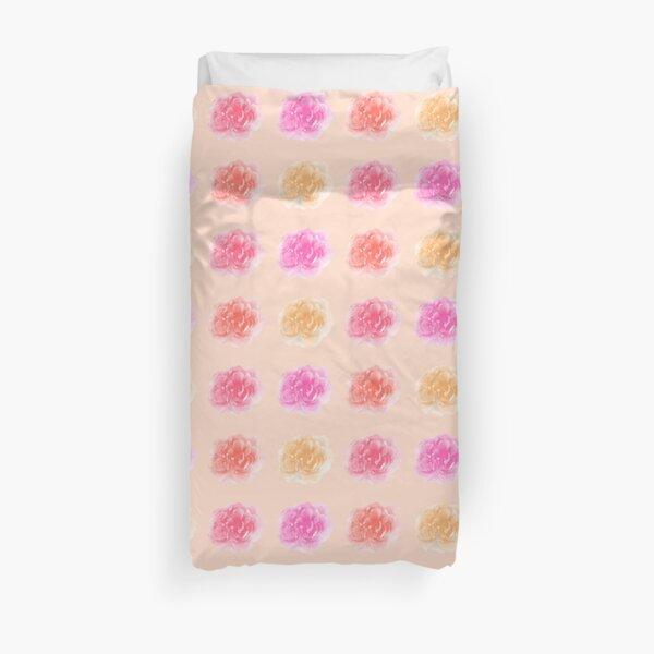 Peonies Floral Print Duvet Cover