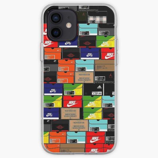 Zapatillas Boxes Funda blanda para iPhone