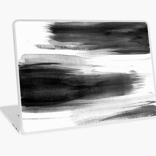 Different Strokes in Black Laptop Skin