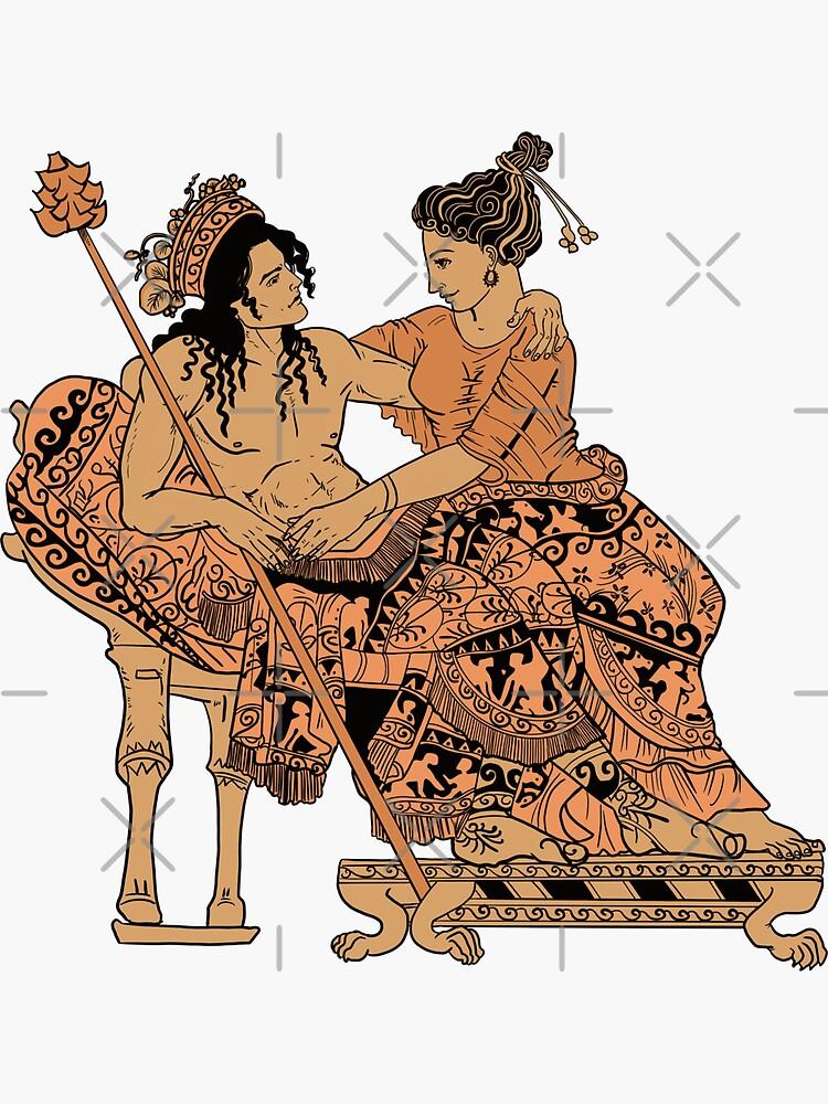 Dionysus and Ariadne by ArchaeoArtist