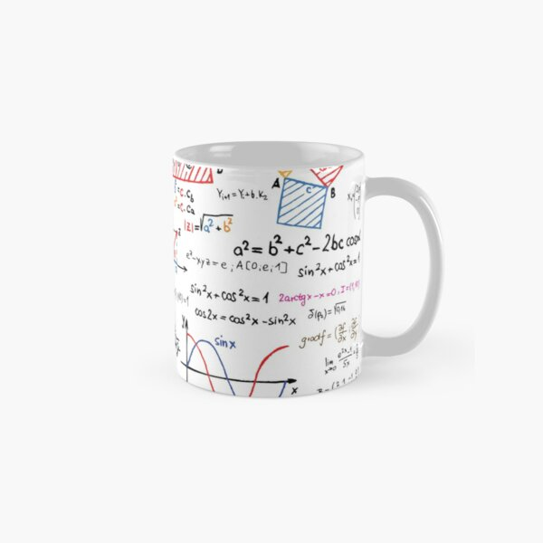 Mathematics Formulas Numbers  Classic Mug