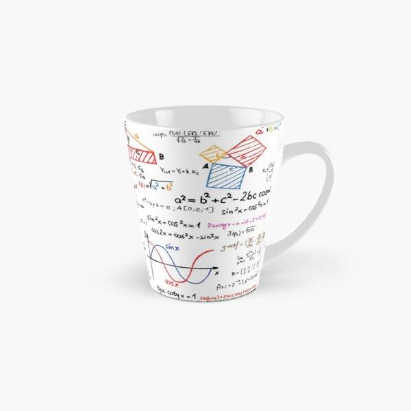 Mathematics Formulas Numbers  Tall Mug