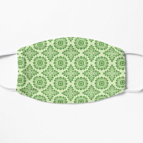Blumenornament barock light green 21102020 in Groß Flache Maske