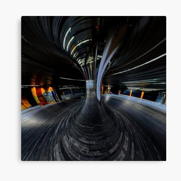 Reflective Sinusoid Canvas Print