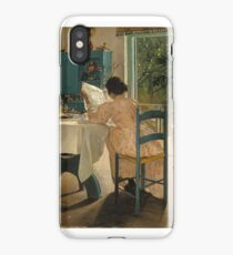 Lauritz Andersen Ring (Danish,  At Breakfast  iPhone Case/Skin