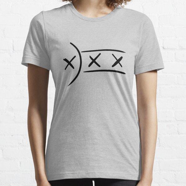 Stylized L'Manberg Flag (black version) Essential T-Shirt