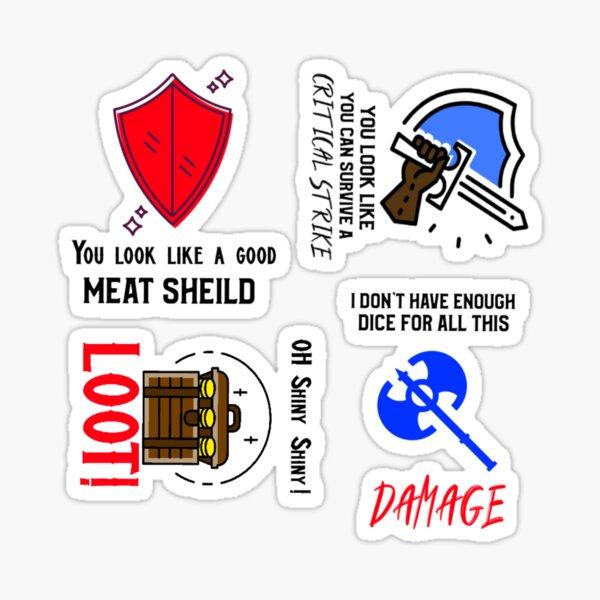 Long Games Inc Meme Sticker Pack 3 Sticker
