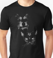 dog and cat, roger and simon Unisex T-Shirt