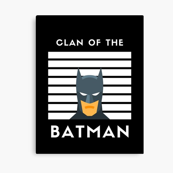 We Are The Bat Family Canvas Print