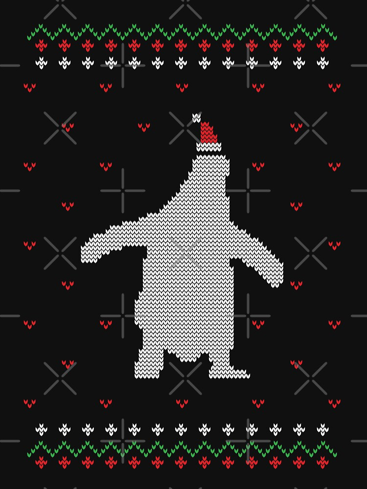 Merry Christmas Penguin Ugly Sweater by NextLVLShirts