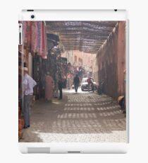 marrakech street life iPad Case/Skin