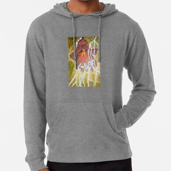 Sàngó (god of thunder) Lightweight Hoodie