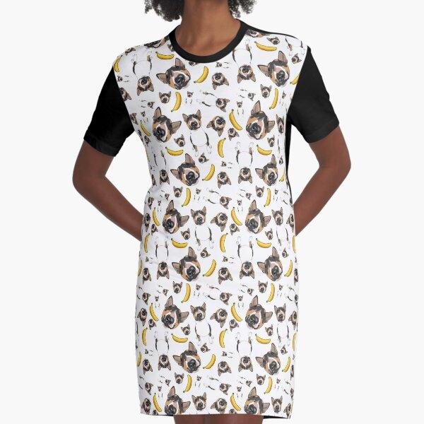 Macho Man Graphic T-Shirt Dress