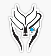 Mass Effect - Garrus (Black) Sticker