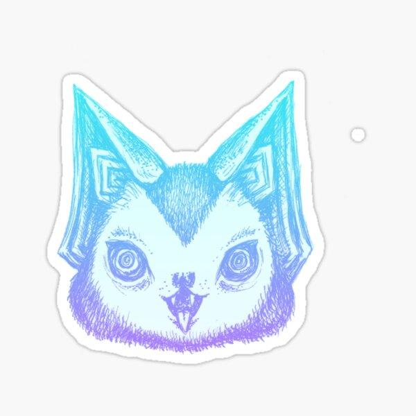 Pastel Bat Sticker