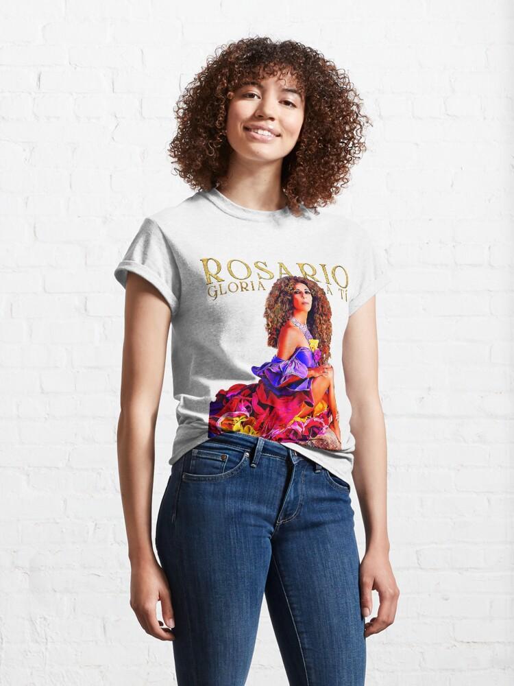 Vista alternativa de Camiseta clásica Rosario Flores Gloria a Tí