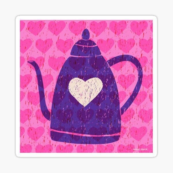 Teapot Love Sticker