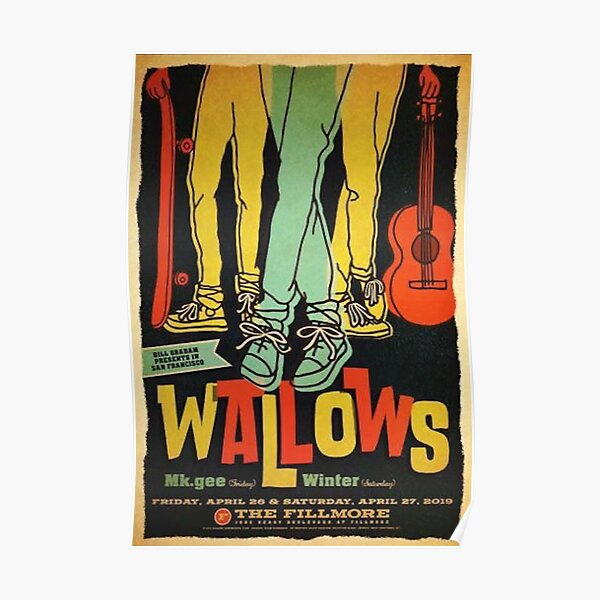 Affiche Vintage Wallows Poster