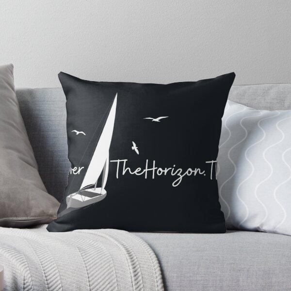 Over The Horizon Throw Pillow