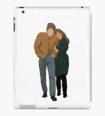 Minimalist Freewheelin' Bob Dylan iPad Case/Skin