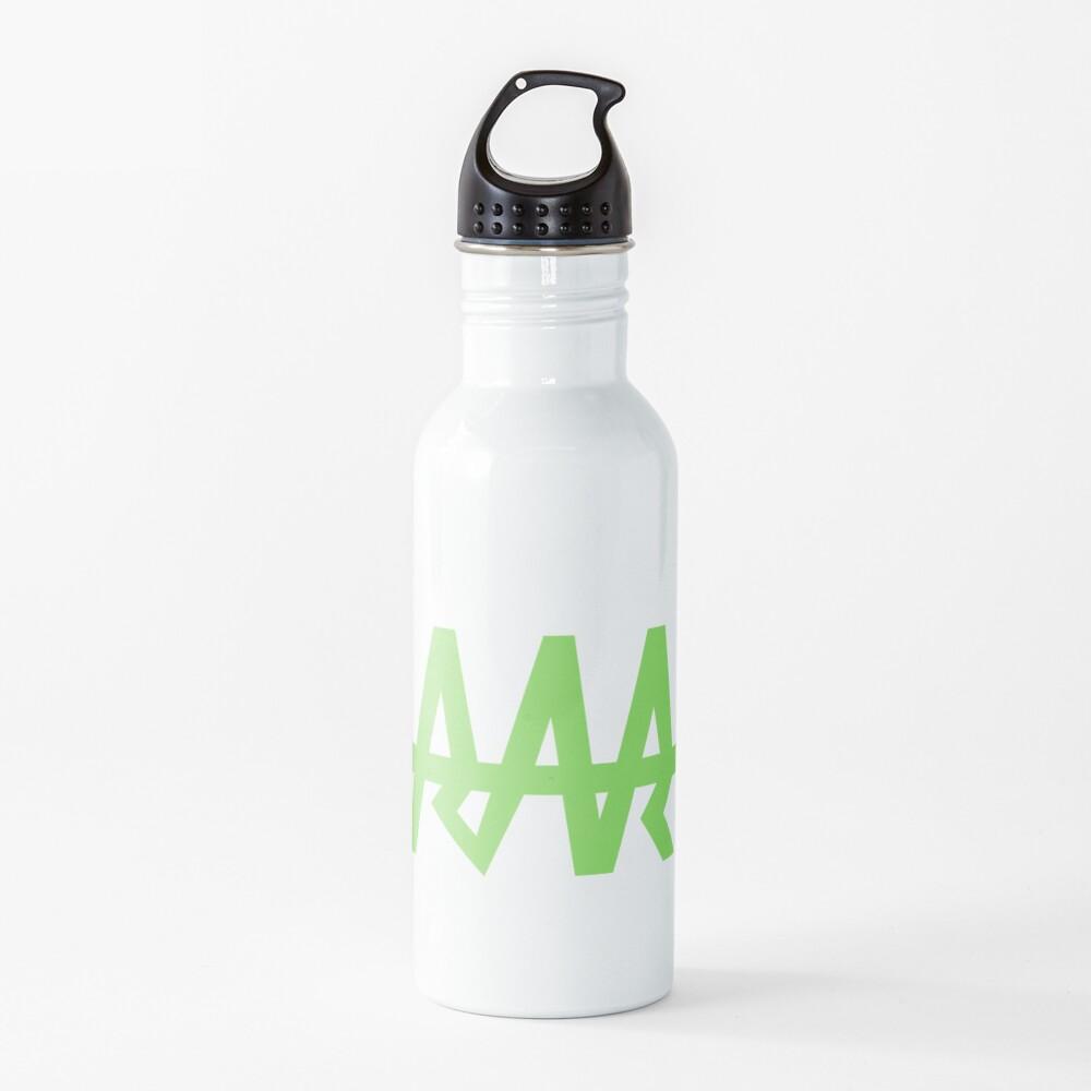 Neon Green Team Rar Lifeline Water Bottle