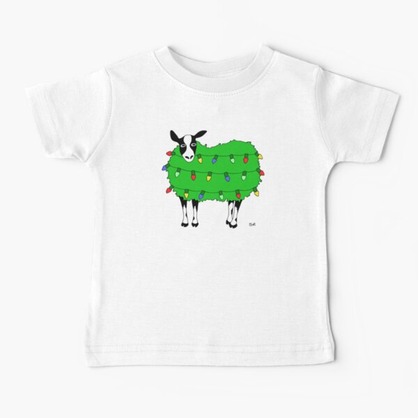 Lighted Sheep Baby T-Shirt