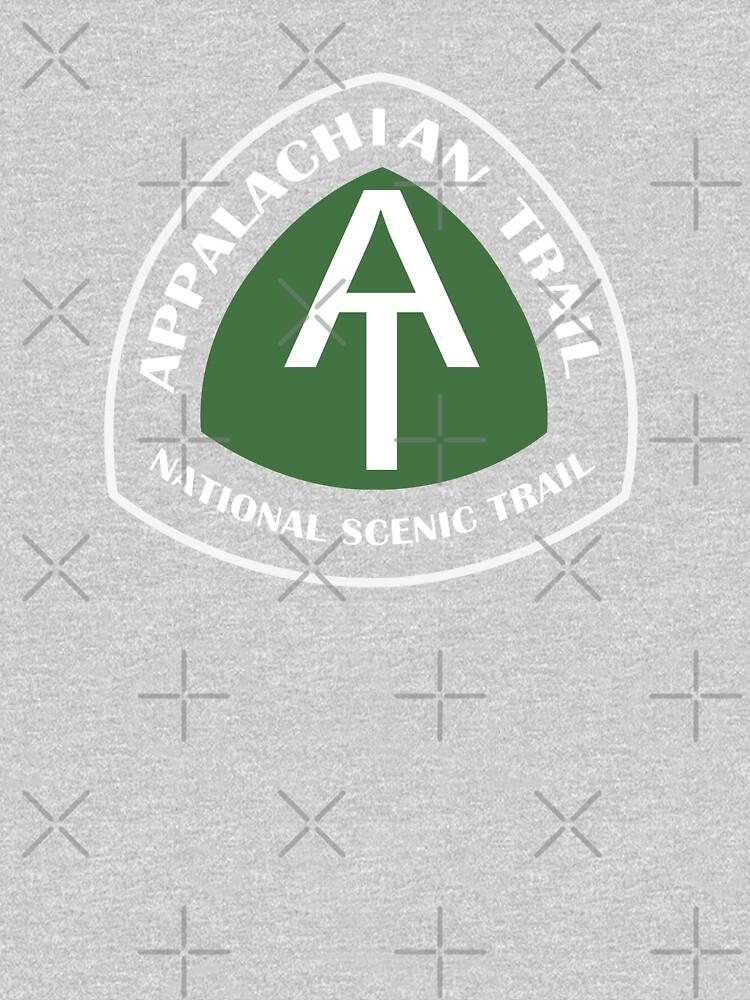 Appalachian Trail Vintage Trail Marker by ThreadsNouveau