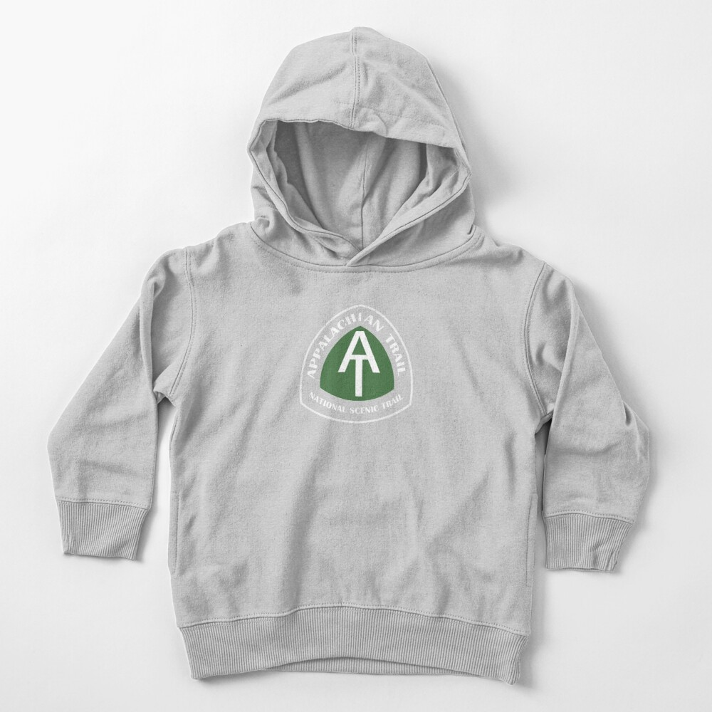 Appalachian Trail Vintage Trail Marker Toddler Pullover Hoodie